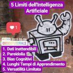 5 limiti dell'intelligenza artificiale