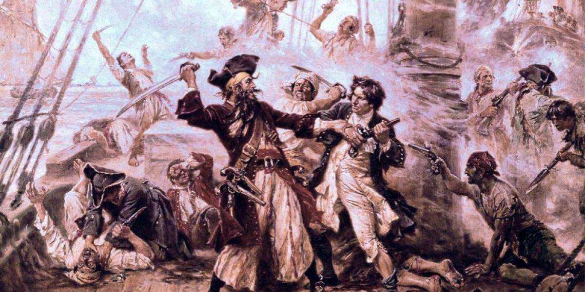combattimento tra pirati
